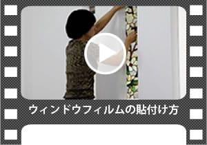 ウィンドウフィルム 貼付け動画