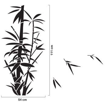 ウォールステッカー ノーマルシリーズ「Bambu」